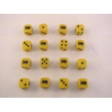 WW2 Dice - British 11th Armoured Division Dice