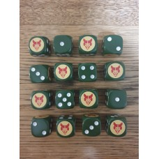 WW2 Dice - 8th British Armoured Brigade Dice
