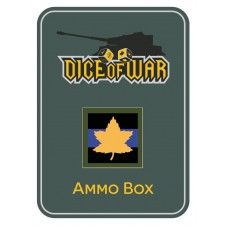2nd Canadian Armoured Brigade Dice & Tin Set