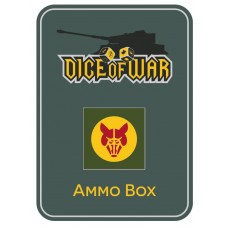 8th British Armoured Brigade Dice & Tin Set
