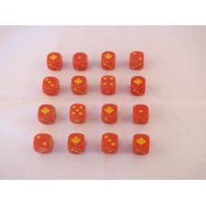 WW2 Dice - 1st Canadian Division Dice