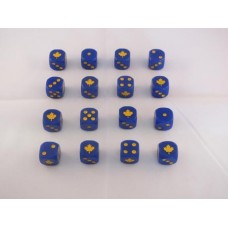 WW2 Dice - 2nd Canadian Division Dice
