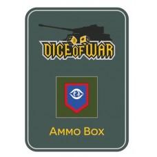 British Guards Division Dice & Tin Set