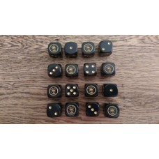 WW2 Dice - British LRDG Logo Dice