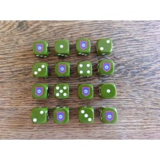 WW2 Dice - British Guards Division Dice