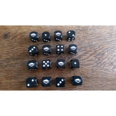 WW2 Dice - British Commonwealth 9th Australian Division Dice
