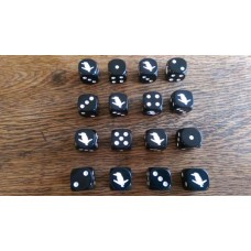 WW2 Dice - British Commonwealth 7th Australian Division Dice