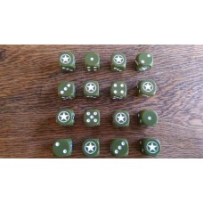 WW2 Dice - Allied Star Dice