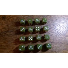 WW2 Dice - Generic US Armoured Division Dice