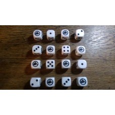 "WW2 Dice - Polish 10th Motorised ""Black"" Brigade Dice"