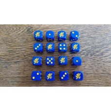 WW2 Dice - British 43rd Wessex Infantry Division Dice