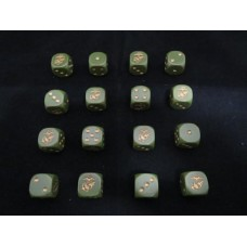 WW2 Dice - US Marine Corps Globe and Anchor Dice