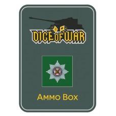 British - Irish Guards Regiment - Dice & Tin Set