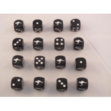 WW2 Dice - British Commonwealth 6th Australian Division Dice