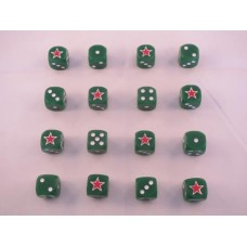 WW2 Dice - Soviet Armour Red Star Dice