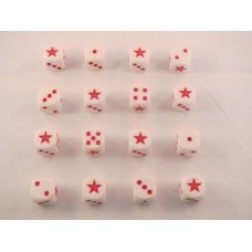 WW2 Dice - Soviet Star Winter Dice