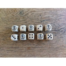 Ancients Dice - Carthage Tanit