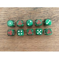 Ancients Dice - Gaul Triskelion