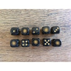 Ancients Dice - Macedon Black