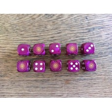 Ancients Dice - Macedon Purple