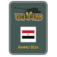 Egypt UAR - Dice & Tin Set