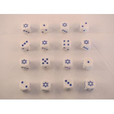 Arab Israeli Dice - Israel Star of David Dice