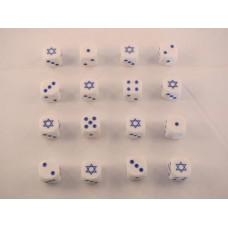 Arab Israeli Dice - Israel Star of David Dice