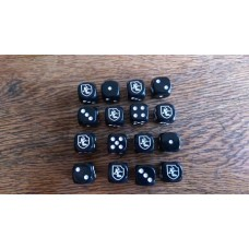 WW2 Dice - German 11th Panzer (Ghost) Division Dice