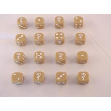 WW2 Dice - DAK Deutsches Afrikakorps Dice