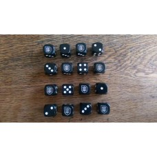 "WW2 Dice - German 9th SS Panzer Division ""Hohenstaufen"" Dice"
