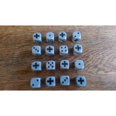 WW2 Dice - Generic German Wehrmacht Balkenkruez Cross Dice
