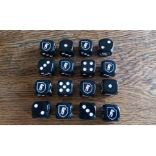WW2 Dice - 12th SS Panzer Division - Hitlerjugend Dice