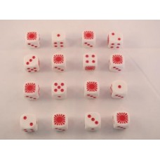 WW2 Dice - Imperial Japanese Army - Rising Sun Dice