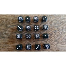 WW2 Dice - SS Charlemagne Grenadier Division Dice