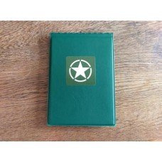 WWII Allies - Green Allied Star Card Wallet - 40 Page
