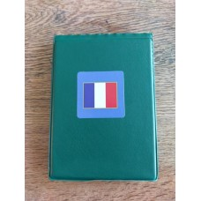 WWII - French Tricolour Card Wallet - 40 Page