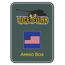 American Civil War - Union Dice & Tin Set