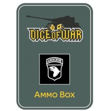US 101st Airborne Division (Screaming Eagles) Ammo Box - Dice Tin