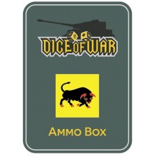 11th Armoured Division Ammo Box - Dice Tin