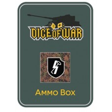 "12th SS Panzer Division ""Hitlerjugend"" (Camo) Ammo Box - Dice Tin"
