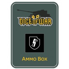 "12th SS Panzer Division ""Hitlerjugend"" Ammo Box - Dice Tin"
