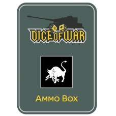 12th Volksgrenadier Division Ammo Box - Dice Tin