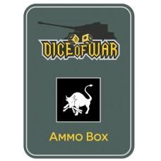 12th Volksgrenadier Division Ammo Box - Dice Tin