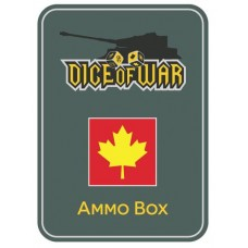 1st Canadian Division Ammo Box - Dice Tin