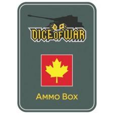 1st Canadian Division Ammo Box - Dice Tin