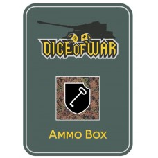 1st SS LSSAH Division Dice Ammo Box (CAMO) - Dice Tin