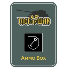 1st SS LSSAH Division Dice Ammo Box (PLAIN) - Dice Tin