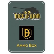 21st Panzer Division Ammo Box - Dice Tin
