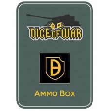 21st Panzer Division Ammo Box - Dice Tin