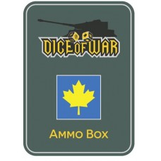 2nd Canadian Division Dice & Tin Set